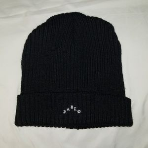 Bascom Projects Pablo cable beanie in black